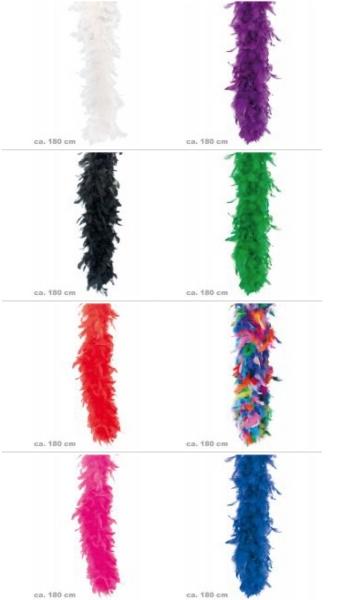 Federboa, ca. 1,80 m Länge ca. 45g verschiedene Farben