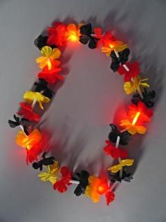 Blütenkette Deutschland mit LED