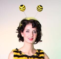 Haarreif, Kopfbügel Biene
