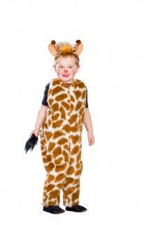 Giraffe Overall  mit Haarreif Tierkostüm