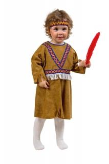 Kleid Indianerin Freche Taube Kinderkostüm