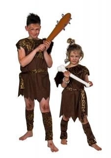 Steinzeit Urmensch Kinderkostüm