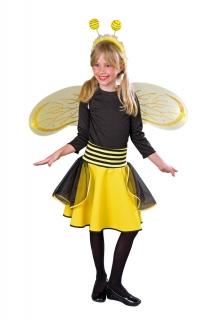 Bienchen-Tellerrock Kinder Bienenkostüm