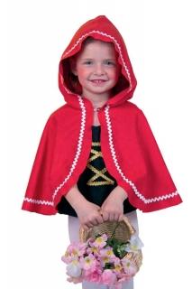 Fasching Kostüm Umhang Rotkäppchen