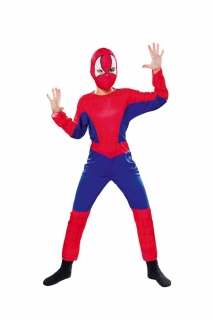 Spinnenheld Overall und Haube