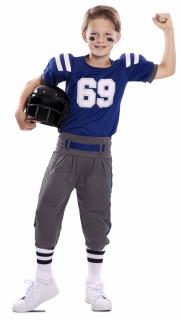 American Football Spieler Kinder-Kostüm Oberteil und Hose