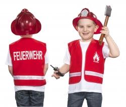 Feuerwehrweste für Kinder Spielweste