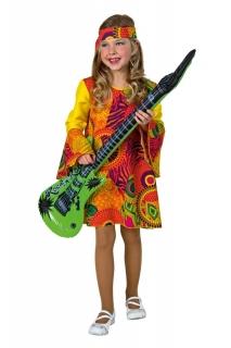 Hippie Mädchen 60er Jahre Kleid