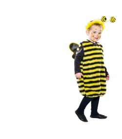 Bienenkostüm Overall mit Flügeln und Fühler