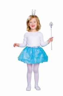 Tüllrock blau für Kids Größe 98-116