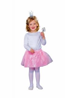 Tüllrock rosa für Kids Größe 98 -116