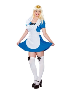Hausdame Zimmermädchen Hausmädchen Kleid mit Schürze