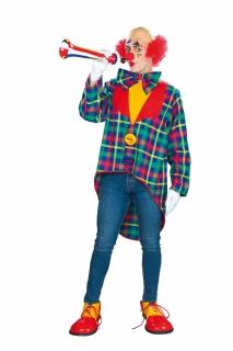 Clown-Jacke mit Fliege
