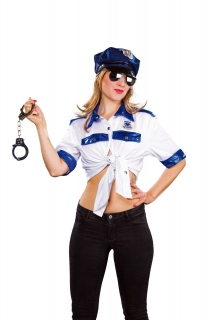 Bluse Polizei Polizistin Police Politesse Uniform