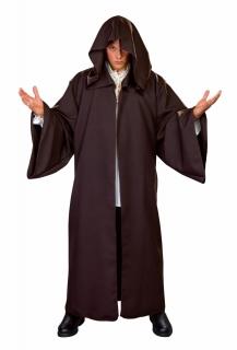 Mantel mit Kapuze braun
