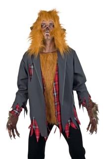 Werwolf Jacke Halloween Horror Wolf Oberteil