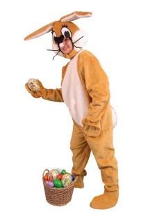 Hasenkostüm braun - Osterhase JGA Lauf Kostüm