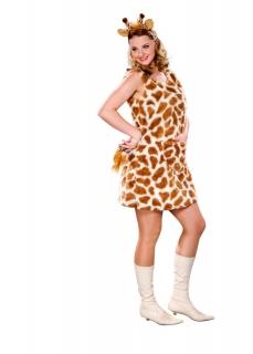 Giraffe Tierkleid mit Kopfbügel und Schwanz