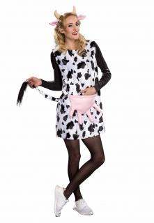 Kuh Kostüm Tierkleid mit Haarreif