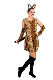 Raubkatze Damen Kostüm