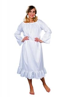 Kleid weiß Universal Cowgirl Mittelalter Nachthemd