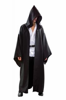 Henker-Mantel mit Kapuze, schwarz