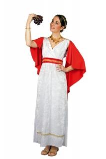 Römerin  langes römisches Kleid