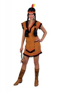 Sexy Indianerin Kostüm Lulu