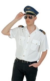 Kapitänshemd Herren Marine Kostüm