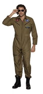 Jetpilot Kampfpilot Kostüm