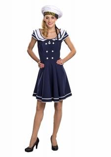 Matrosenkleid Kostüm Matrosin Marine Sailor Girl