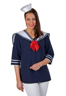 Matrosenbluse Matrosin Sailor Marine