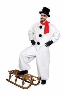 Schneemann Kostüm, Overall Universalgröße