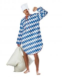 Bayerisches Nachthemd Schlafwandler Schlafmütze