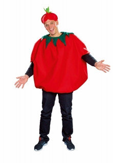 Tomate Überwurf Größe Uni
