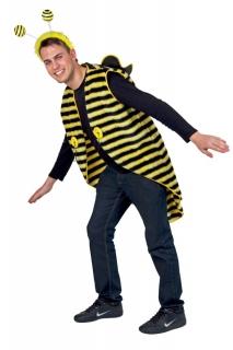Bienenkostüm Frack Biene Drohne Plüschkostüm