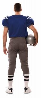American Football Spieler Herren Kostüm Oberteil und Hose M/L