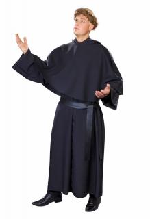 Mönchskutte, schwarz (Martin Luther) Größe Uni