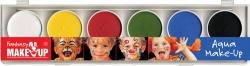 Aqua Farben Schmink Set Fasching
