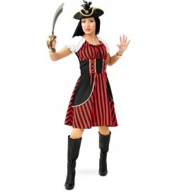 Piratenlady Piratenkostüm Damen Piratenkleid