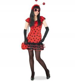 Marienkäfer Kostüm Käferkleid Ladybird