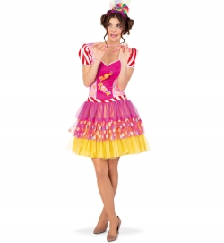 Kleid Candy Damen Kostüm