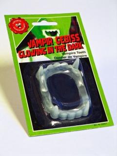 Fluoreszierendes Vampirgebiss