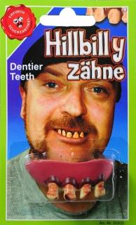Hillbilly-Zähne auf Karte