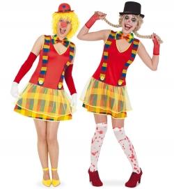 Clownette, Kleid