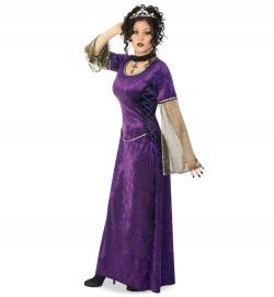 Lady Purpur, Kleid