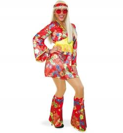 Hippie, Kleid mit Stulpen