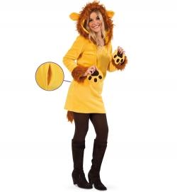 Leonie Löwe Tierkostüm Kleid
