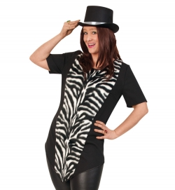 Zebra Longshirt Tierkostüm