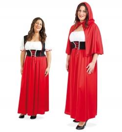 Rotkäppchen Kleid mit Cape
